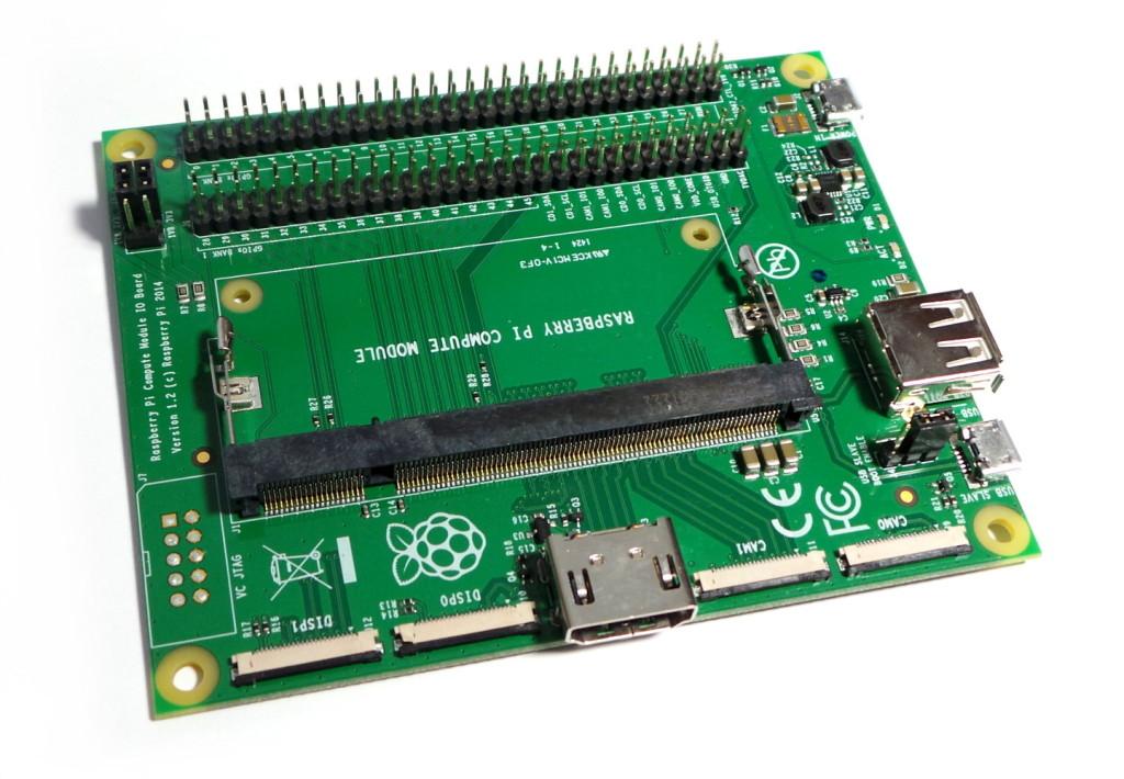 Raspberry Pi Compute Module I/O Board