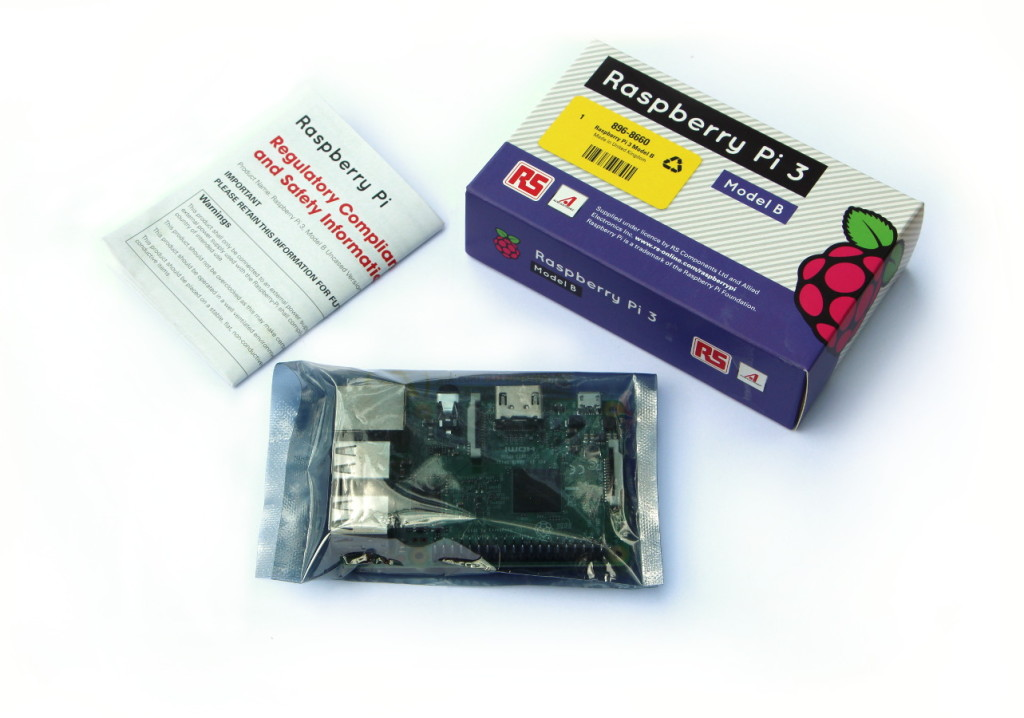 Raspberry Pi 3 model B package